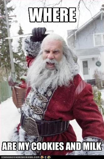 bill goldberg cookies santa clause wrestler - 2679031808