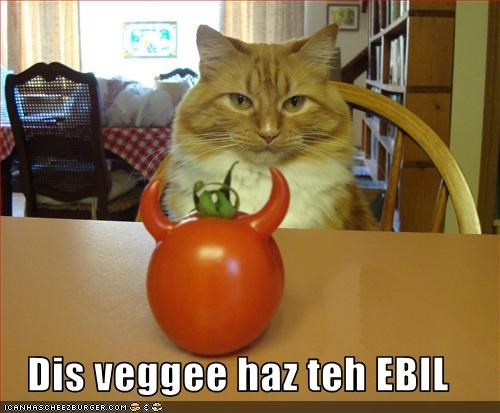 evil tomatoes vegetables - 2679282176