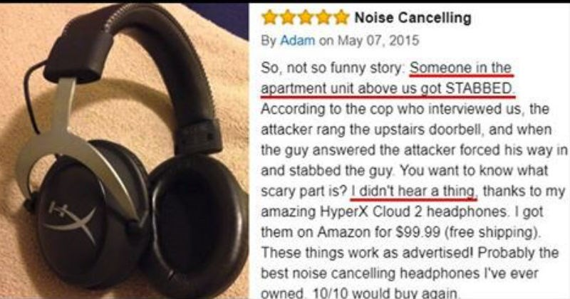 10+ Amazon reviews made funnier by their crazy hyper accuracy.