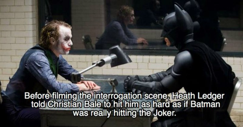 Facts From the Making of 'The Dark Knight'