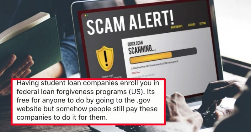 People share stories of the stupid scams that other people still somehow fall for.