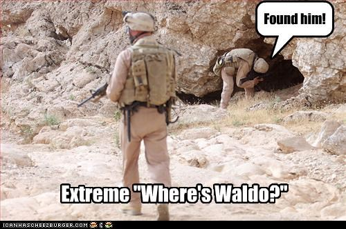 "Found him! Extreme ""Where's Waldo?"""