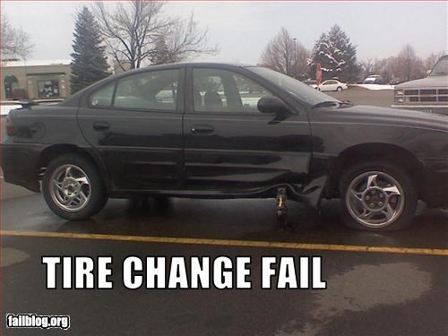 cars change damage g rated jack tire - 2690983936