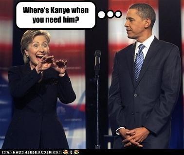 barack obama democrats Hillary Clinton kanye west president secretary of state - 2691827968