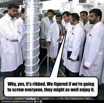 iran Mahmoud Ahmadinejad nuclear weapons theocracy