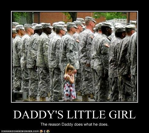 DADDY'S LITTLE GIRL The reason Daddy does what he does.