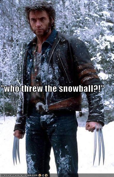 angry,fighting,hugh jackman,snow,wolverine,x men
