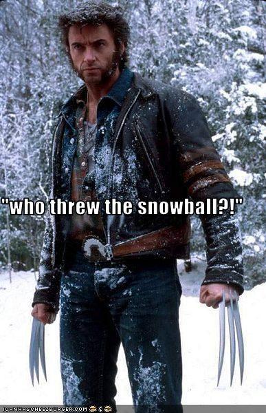 angry fighting hugh jackman snow wolverine x men - 2700953600