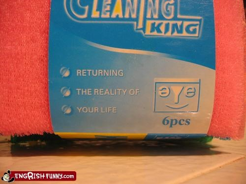 cleaning,g rated,king,life,reality
