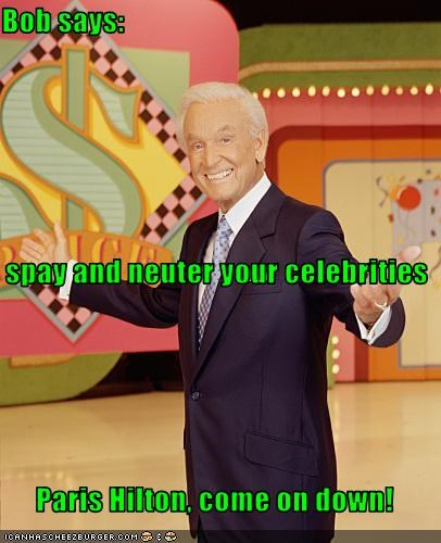bob barker game shows host paris hilton - 2705072640