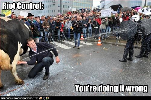 Riot Control: You're doing it wrong
