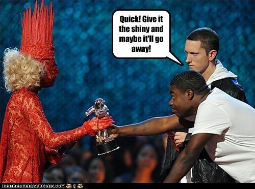 award shows costume crazy eminem lady gaga rapper singer Tracy Morgan - 2709984256
