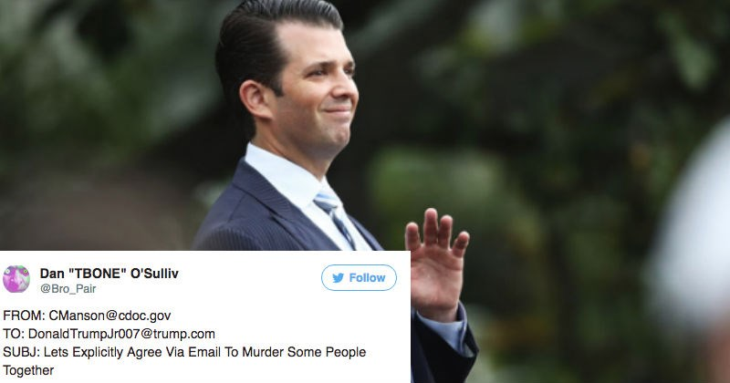 The internet reacts on Twitter to the release of Donald Trump Jr.'s controversial emails.