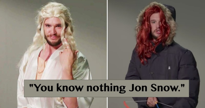 Kit Harrington Auditions For Other 'Game of Thrones' Roles in This Hilarious 'Leaked Footage'