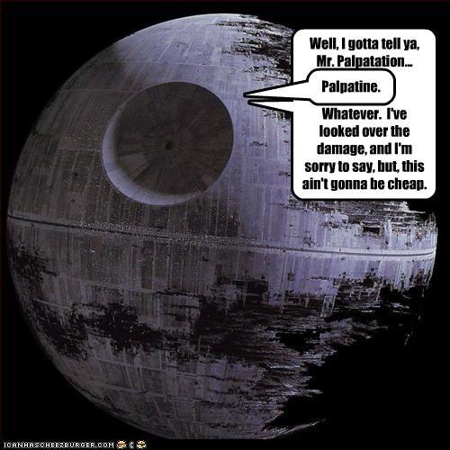 cheap damage Emperor Palpatine repair The Death Star - 2712542208