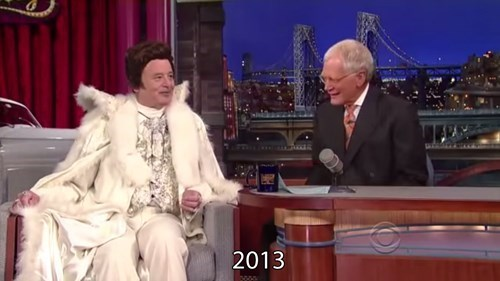 poorly dressed bill murray late show win David Letterman - 271621