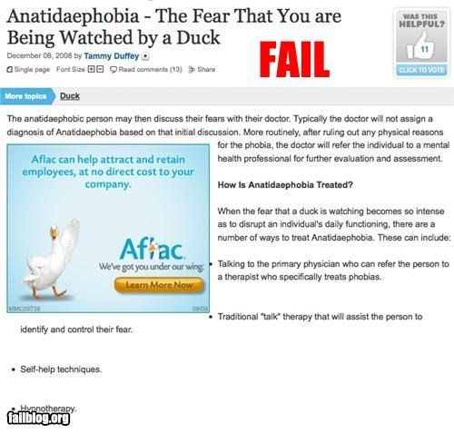 ad placement advertisement duck fear g rated internet website - 2721508864