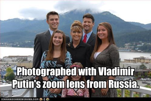 alaska,bristol palin,Governor,idiot,Piper Palin,Sarah Palin,stupidity,Todd Palin,Vladimir Putin,willow palin