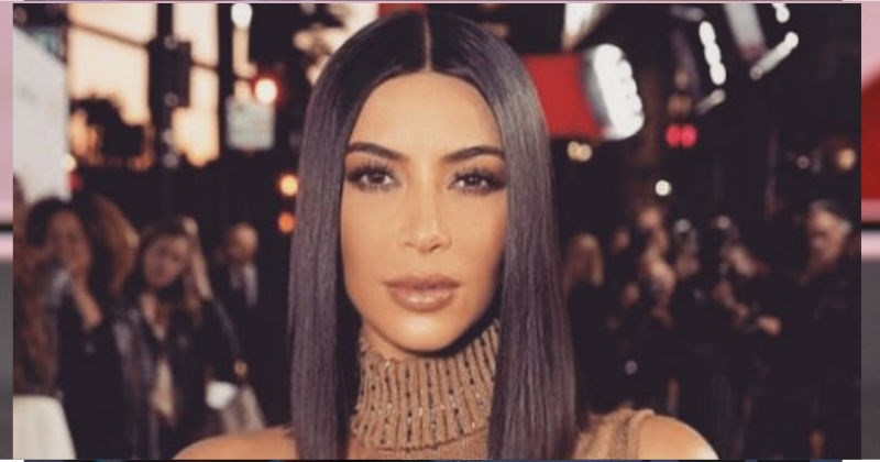 Kim Kardashian's getting trolled by people on the internet after she shared Snapchat video with mysterious white lines in the background.