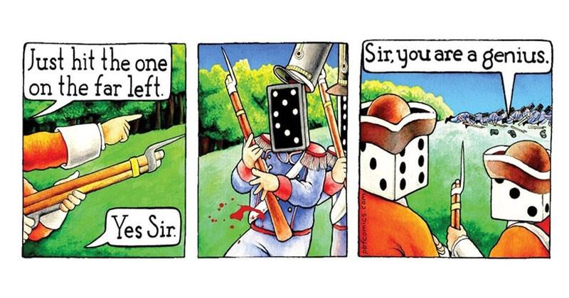 Collection of random funny comics.