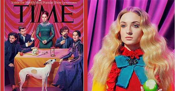Revista Time Game of thrones