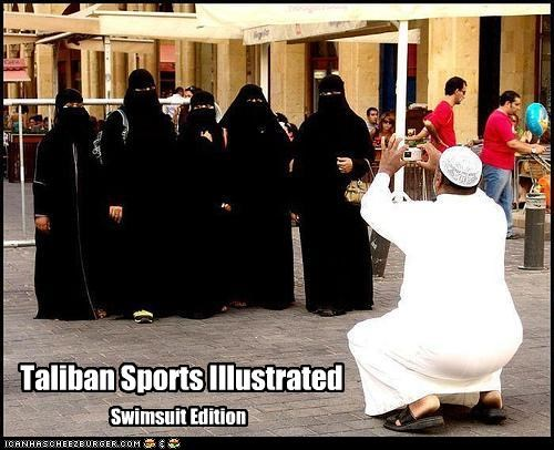 sports illustrated swimsuits taliban
