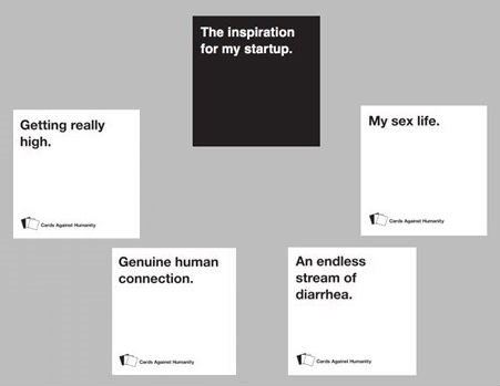 monday thru friday,Tech,cards against humanity