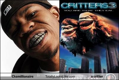 chamillionaire critter Evil Grill horror movies Music rapper teeth - 2726878720
