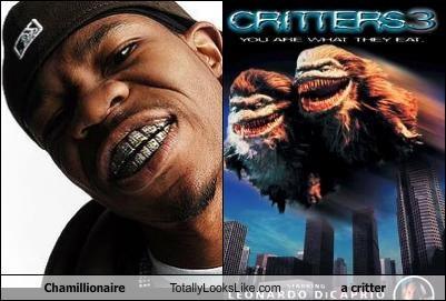 chamillionaire critter Evil Grill horror movies Music rapper teeth - 2726878720