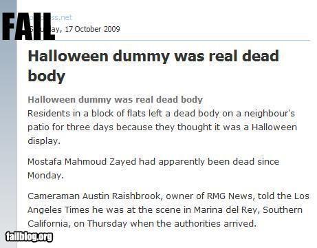 article body dead display halloween news - 2734568704