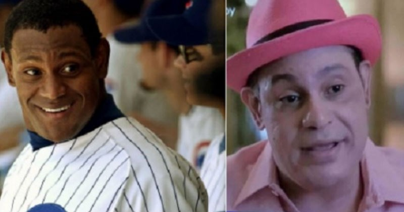 Sammy Sosa is getting trolled on social media after his ridiculous appearance during Pepto Bismal commercial.