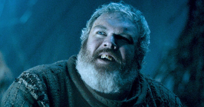 Hodor from Game of Thrones holds open the door for fans to get people fired up for the show.