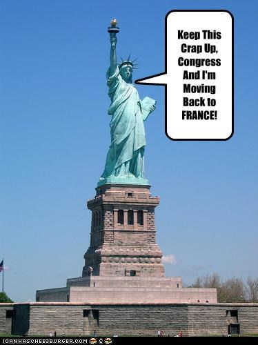 Congress france the statue of liberty - 2738326272