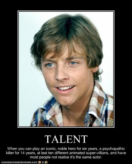animation,cartoons,Mark Hamill,sci fi,star wars,talent,voice over