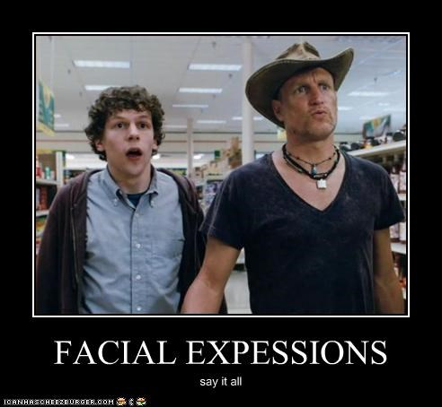 FACIAL EXPESSIONS say it all