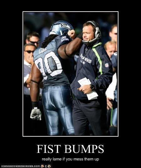 FIST BUMPS