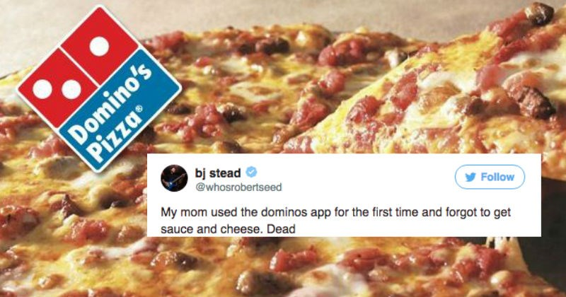 Mom's Dominoes pizza order goes viral because it's so ridiculous.