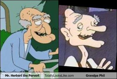 Mr Herbert The Pervert Totally Looks Like Grandpa Phil