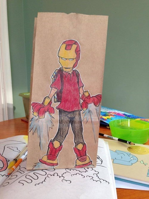 Just in Time For Father's Day, This Dad Shares His Awesome Lunchbag Drawings