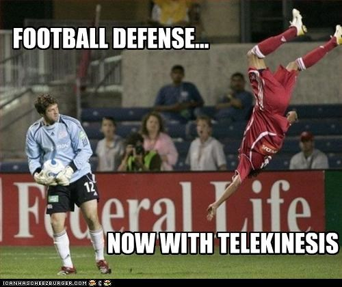 Football Defense Cheezburger Funny Memes Funny Pictures