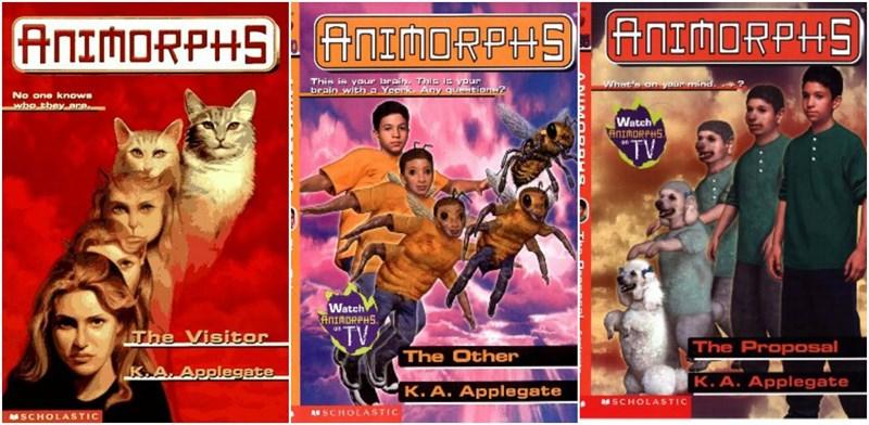 Animorphs sus mejores portadas