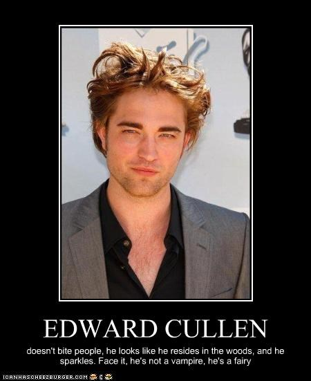 Buffy the Vampire Slayer,fairy,robert pattinson,Sparkle,the cullens,twilight