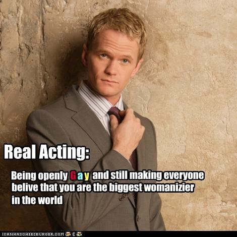 convincing gay Hall of Fame Neil Patrick Harris real womanizer - 2764733952
