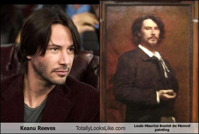 actor,keanu reeves,louis-maurice boutet de monvel,painting