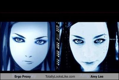 Ergo Proxy Totally Looks Like Amy Lee