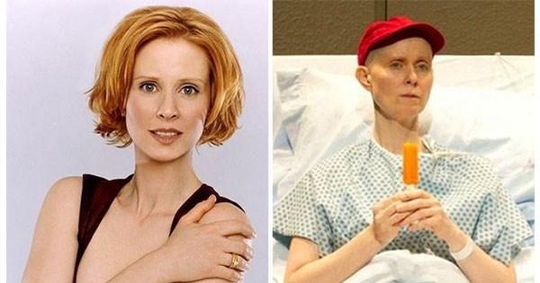 cambios drasticos en actrices