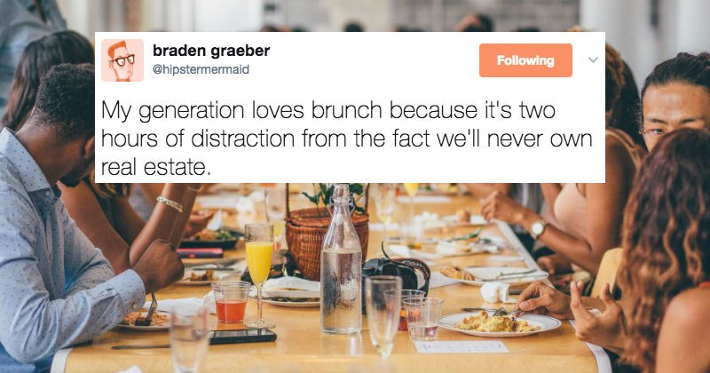 Funny Twitter moments that capture the angst and frustration of being a Millennial.