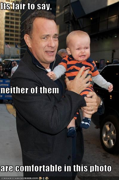 Babies,cry,tom hanks