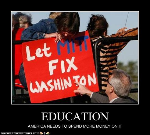 EDUCATION AMERICA NEEDS TO SPEND MORE MONEY ON IT