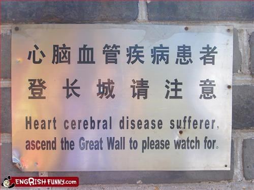 disease,g rated,great wall of china,heart,please,signs,suffer,watch